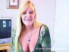 19yo Amateur Mature Blonde Woman Sucking A Younger Big Black Cock