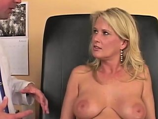 Busty Blonde Pleases A Horny Doctor Nuvid