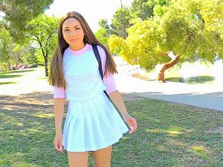 Public Pussy Flashing With A Cutie In A Tennis Miniskirt Any Porn