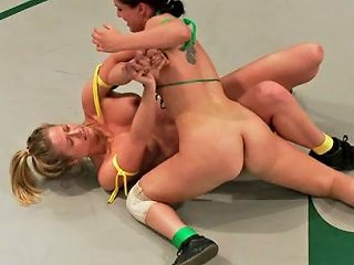 Rookie Ranked 6th Takes On Fitness Model Ranked 7th Brutal Non Scripted Action Loser Gets Fucked Publicdisgrace