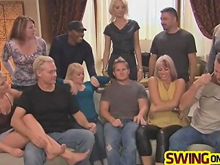 Mature Swingers Fuck Harder Than Young Ones