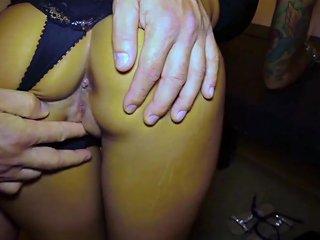 German Teen Anni Angel First Bareback Fuck With Stranger