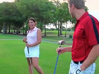 Bitch Fucked In The Locker Rooms Of Golf Club