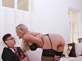 Milf Fuck And Mom Compeer Comrade Threesome Halloween Special With A