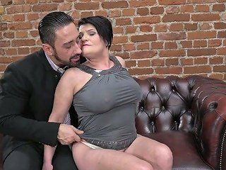 Young Dude Fucks Old Bitch With Saggy Huge Boobs Dolly Bee