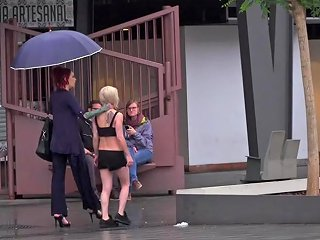 Eager Bitch Spanked And Flogged In The Rain Part 1 Publicdisgrace Txxx Com