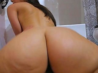 Big Booty Step Sister Caught Masturbating