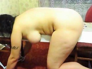 Flogging Of My Tied Fat Slave Nadja
