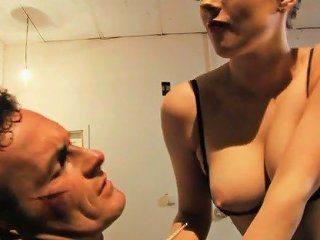 Tied Up Dude Actually Enjoys The Way Curvy English Milf Rides Him On Top