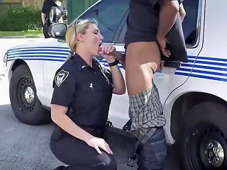 Chubby Brunette MILF XXX We Are The Law My Niggas And The Law Needs