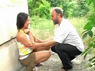 Older Beard Man Fucks Teen Under The Bridge Free Porn E5