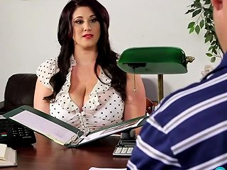 Chubby Angel Deluca Incredible Sex Video