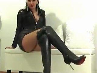 Domina In Leather Txxx Com