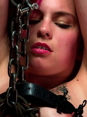 Sexy Bad Girl Tamed By Chain