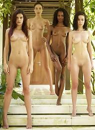 Candice Engelie Kiki Valerie 4 Fab Females^new Nude City Erotic Sexy Hot Ero Girl Free