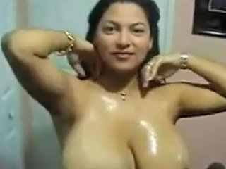 Busty Indian Housewife...