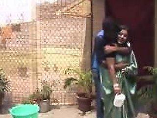 Satin Silk Saree Aunty...