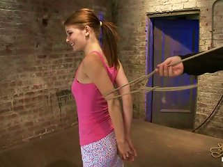 Slender And Naughty Teen Deserves To Be Punished