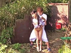 Tiny Japanese Thighfucked Outdoors Porn Videos