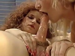 Hermaphrodite And The Blonde Girl