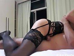 Perfect Ts Girlfriend Passionate Sex