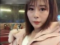 Cute Asian Cums In Public