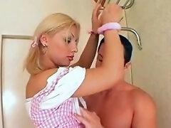 Pink Dress Blonde Fucking Boy