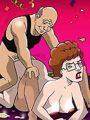 215 king of the hill orgies^Toon Party Cartoon porn sex xxx cartoons toon toons drawn drawings free